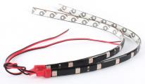 12 LEDs 30cm 5050 SMD LED Strip Light Flexible Waterproof 12V - Red