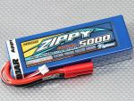 ZIPPY 5000mAh 2S1P 30C Hard Case Lipo Battery