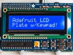 Adafruit Blue&White 16x2 LCD+Keypad Kit for Raspberry Pi